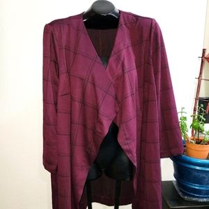Lane bryant drape cardigan